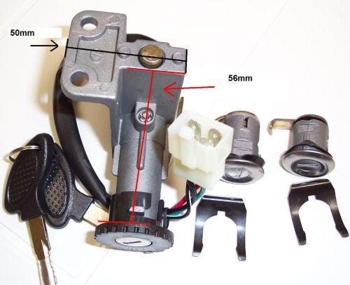 50 150 250cc Scooter Ignition Key Lock Set