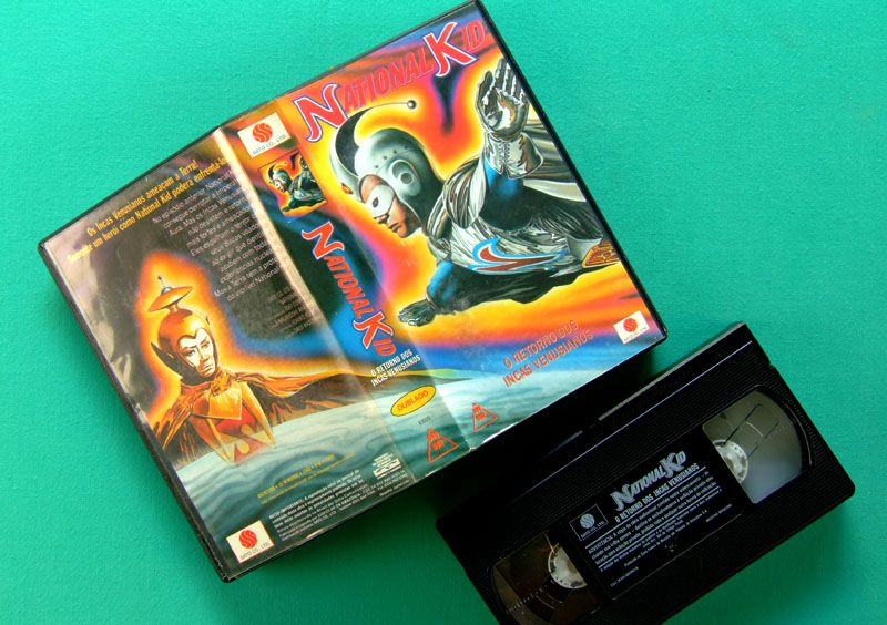VHS National Kid O Retorno Dos Incas Venusianos Brazil