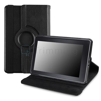 PU Leather Case+Car Charger+Stylus+SP For New Kindle Fire 1&2 7 inch