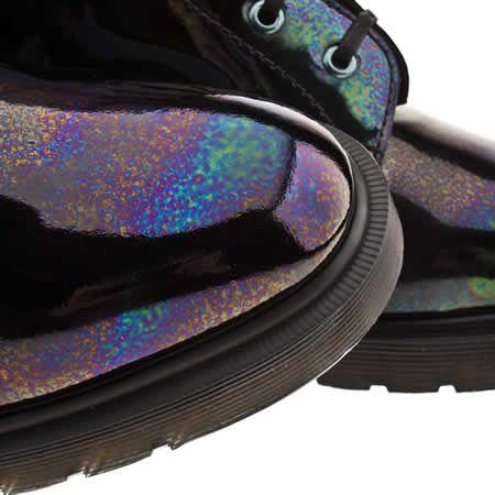 Dr Martens Langston Mens Black Leather Lace Up Boots