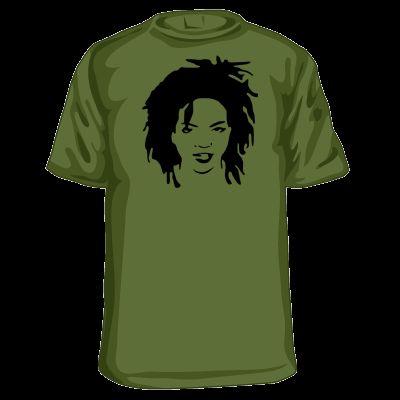 Lauryn Hill T Shirt Fugess Old School Retro Rap Hip Hop