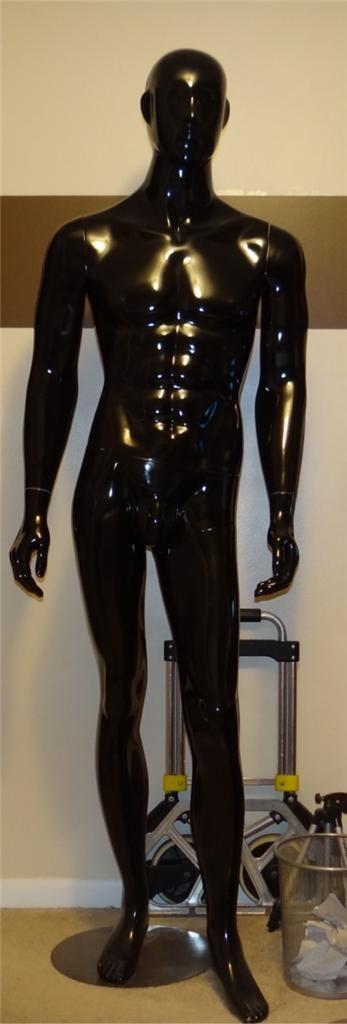 Male Mannequin Full Body Display Standing Dummy Man Men Manikin