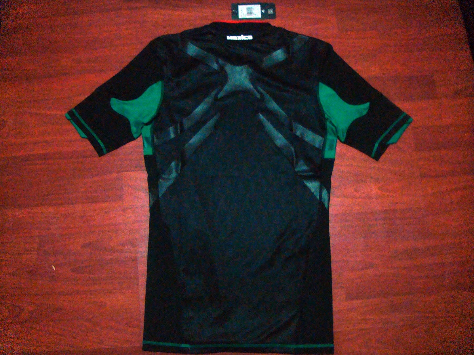 release date: 1fe09 3ba6c Jersey Adidas Mexico 2010 Away TECHFIT Black Authentic