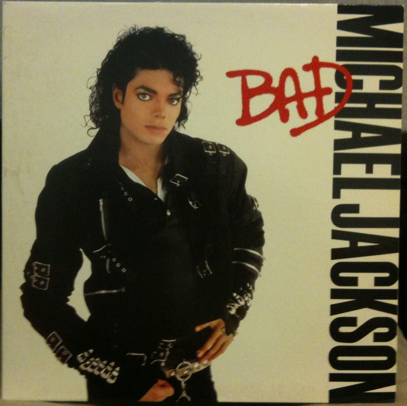 Michael Jackson Bad LP Vinyl OE 40600 VG 1987 1A 1c