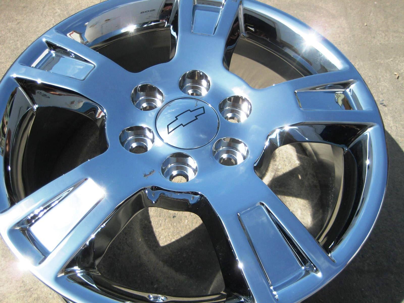 Stock 4 New 18 Factory GMC Acadia Outlook Chrome Wheels Rims