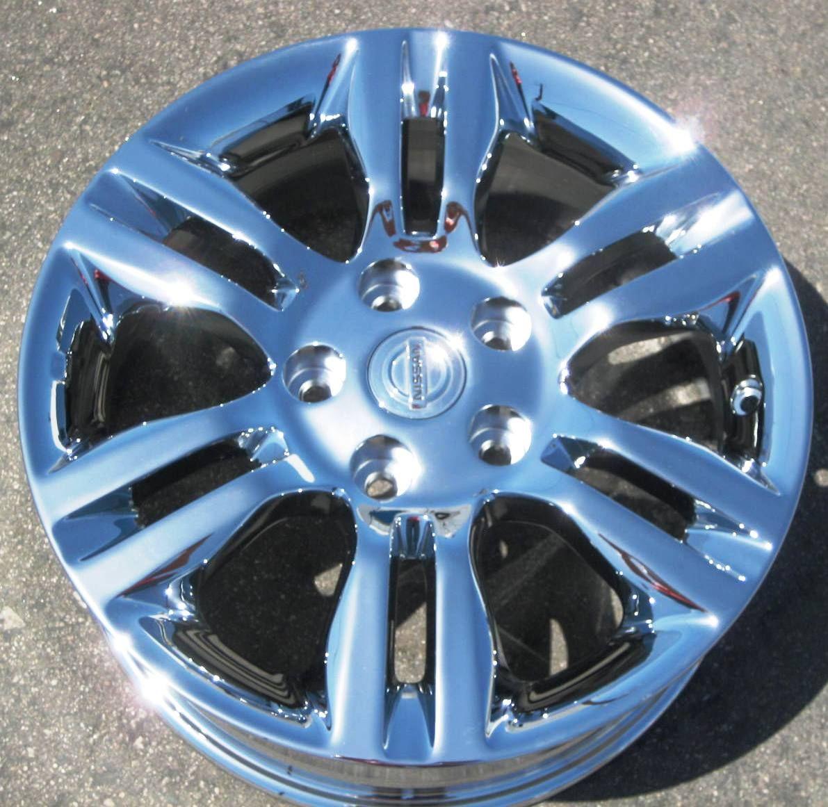 New 16 Factory Nissan Altima Chrome Wheels Rims Maxima Murano