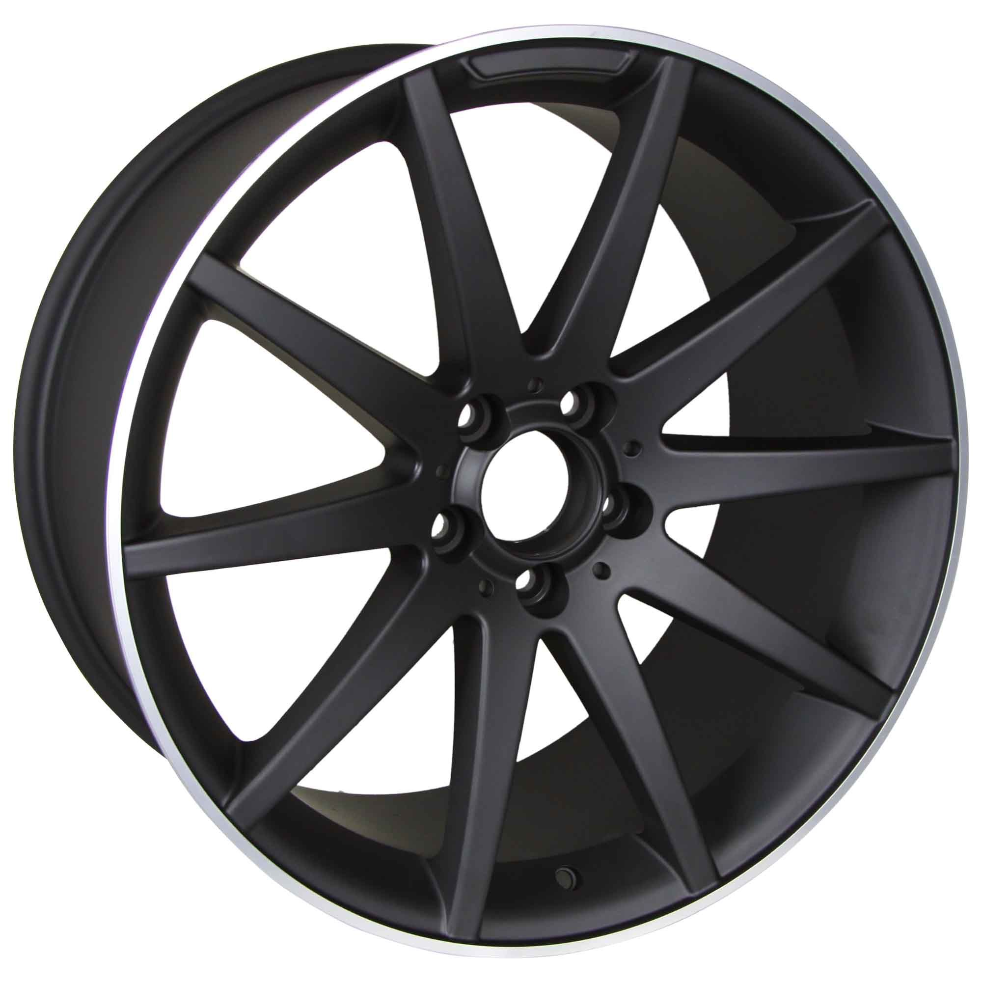 19 Mercedes Benz Wheels C Class Rims AMG Style Staggered 2008 Up Set