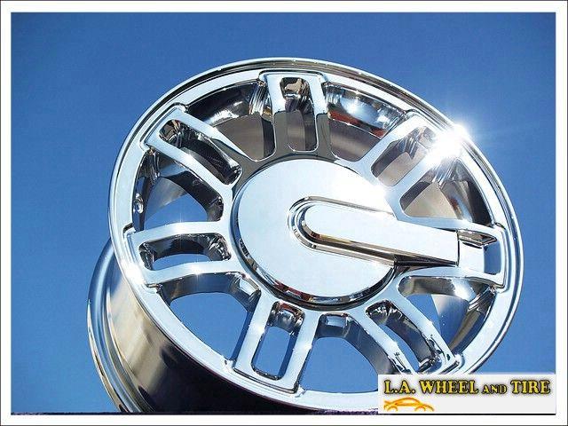 Set of 4 New 16 Hummer H3 Chrome Wheels Rims Chevrolet Tahoe Suburban
