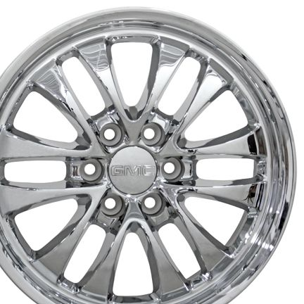 20 Chrome Avalanche Wheel 5240 Rim Fits Chevrolet GMC Sierra