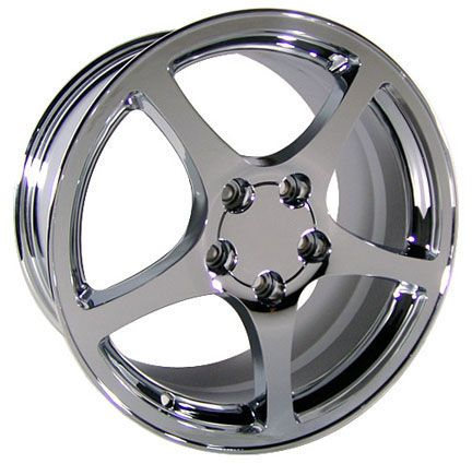 17 18 8 5 9 5 Chrome C5 Wheels Falken Tires Rims Fit Camaro Corvette