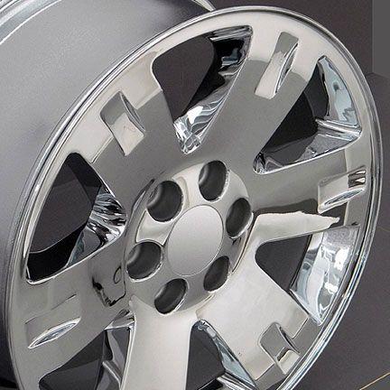 20 Chrome Yukon Wheels 20 x 8 5 Rims Fit GMC Chevrolet Cadillac Set