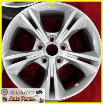 2012 12 Ford Focus 16 5x108 Silver Take Off Wheels Factory Rims 3878