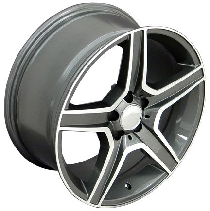 19 8.5/9.5 Gunmetal AMG Wheels Set of 4 Rims Fit Mercedes C E S Class