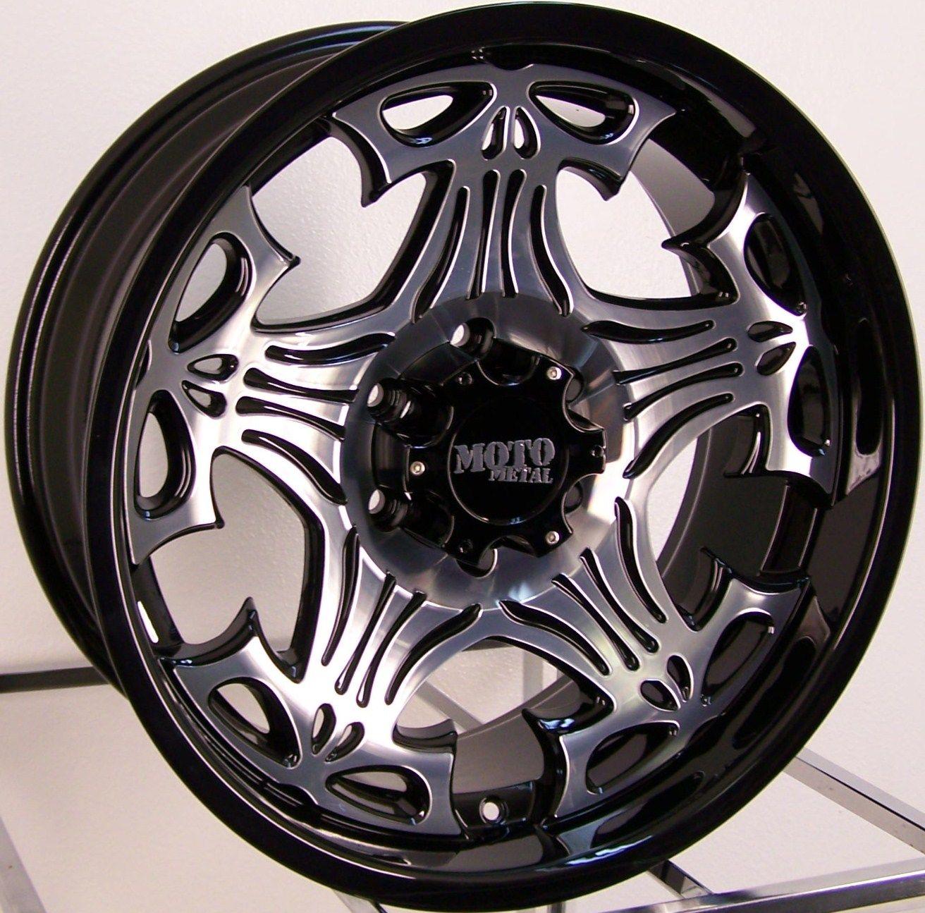 20 Skull Wheels Rim Chevy Dodge Ford 2500 3500 HD 8LUG