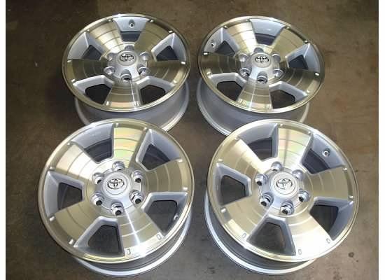 17 Toyota TACOMA TRD Sport Wheels RIMS OEM 05 13 12 Tundra 4Runner