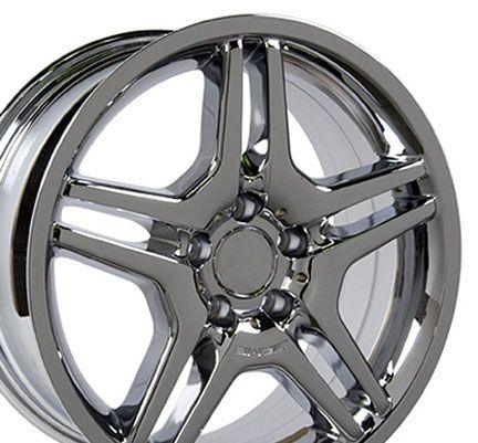 18 AMG Wheel Chrome Rim Fits Mercedes C E s Class SLK CLK CLS ET35