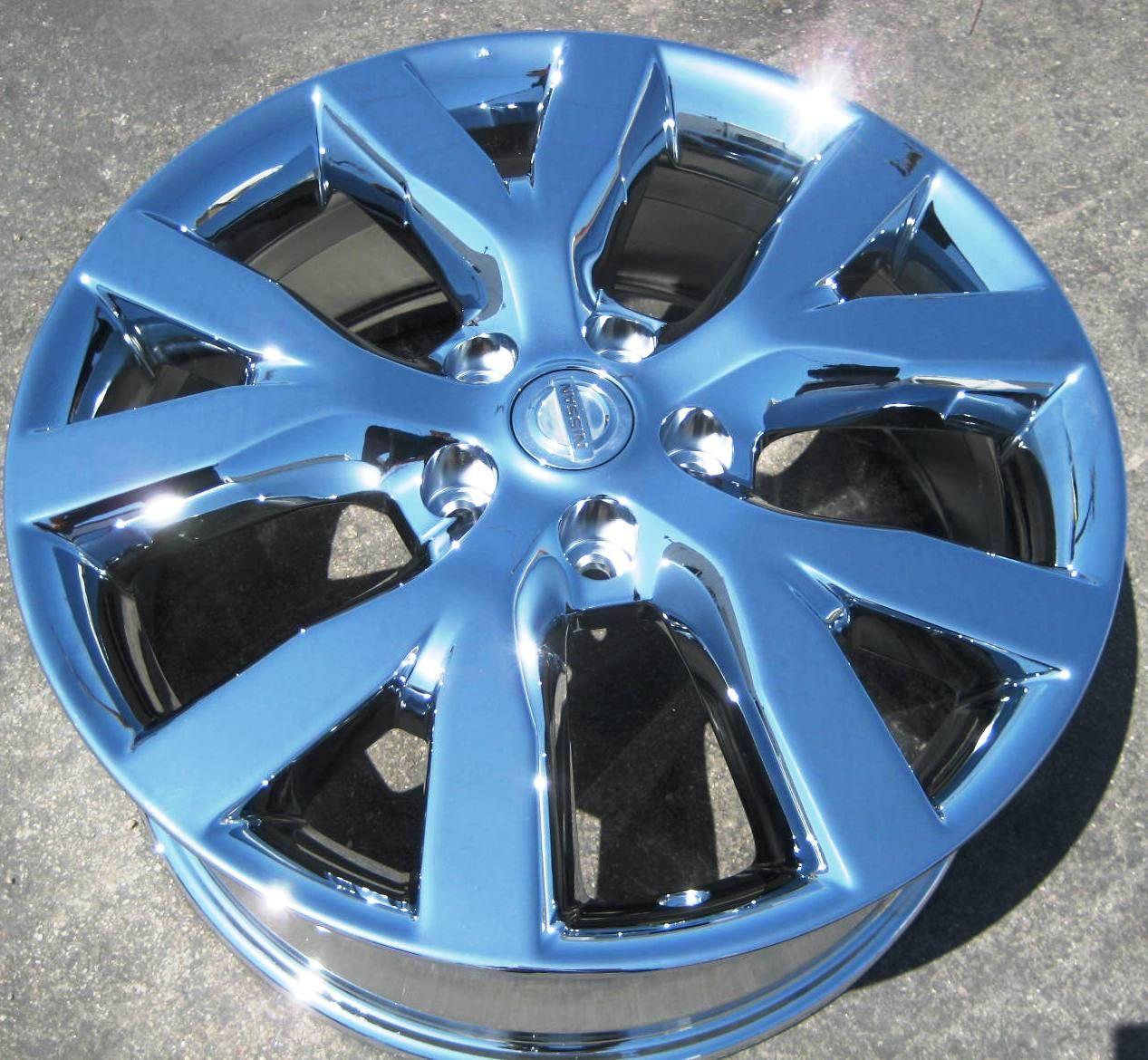 FACTORY NISSAN MURANO OEM CHROME WHEELS RIMS FX35 FX45 MAXIMA M45 M35