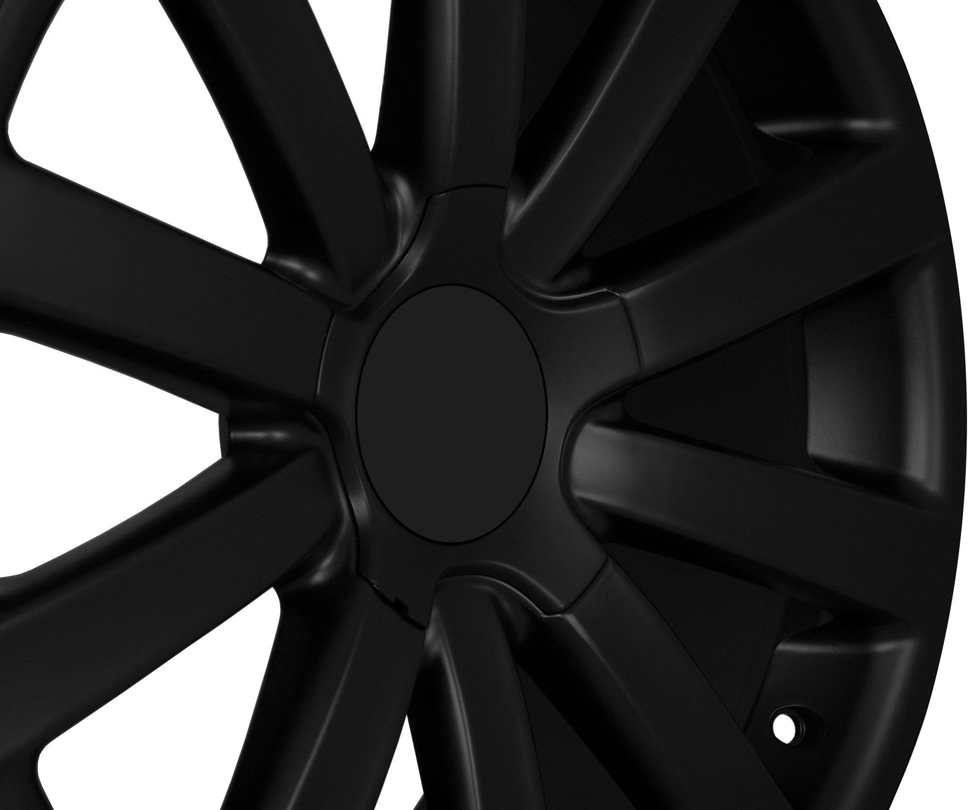 18 VW R32 Matte Black Wheels Rims Fit VW Jetta MKV Mkvi Passat B6 CC