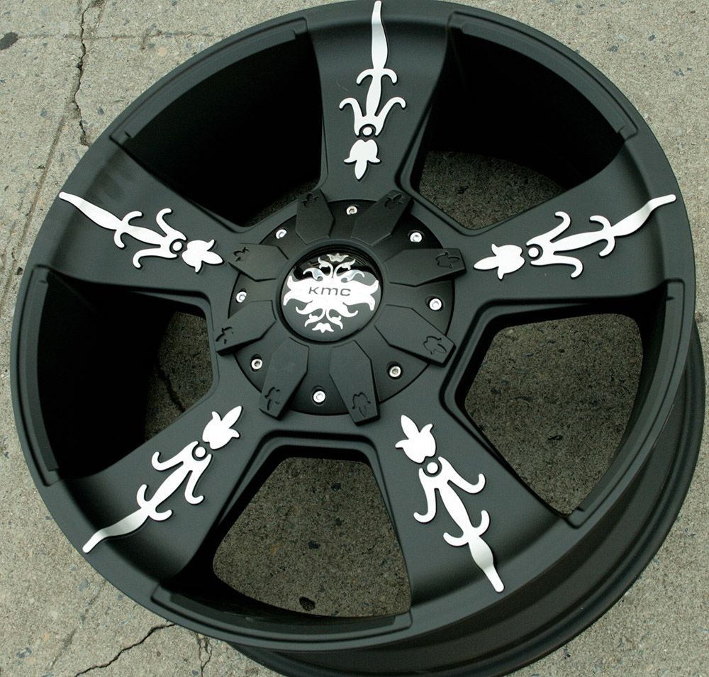 22 Black Rims Wheels GMC Yukon Denali XL 07 Up 22 x 9 0 6H 30