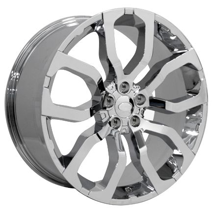 22 Chrome Wheels Rims UHP Tires Fit Range Land Rover HSE Sport LR3