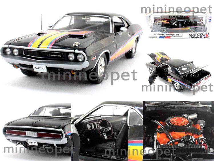 Greenlight 50832 Matco Tools 1970 70 Dodge Challenger R T 1 18 Diecast