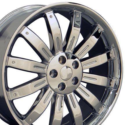 22 Wheels Chrome Rims Fit Land Range Rover LR3 LR4 HSE Sport