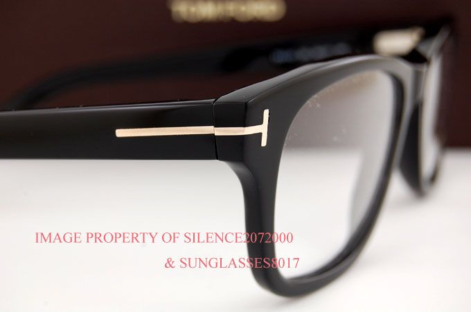 Brand New Tom Ford Eyeglasses Frames 5147 001 Black for Men Sz 52