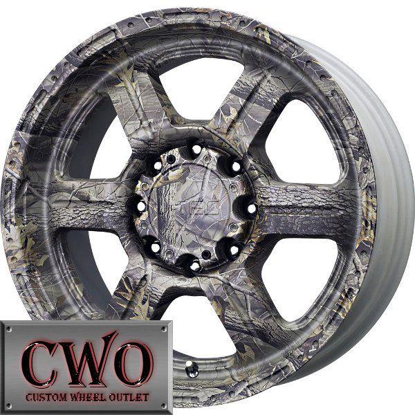17 Camo V Tec Off Road Wheels Rims 5x127 5 Lug Chevy GMC C1500 Jeep
