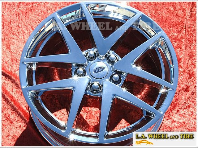 Set of 17 Ford Fusion Chrome Factory Wheels Rims 2010