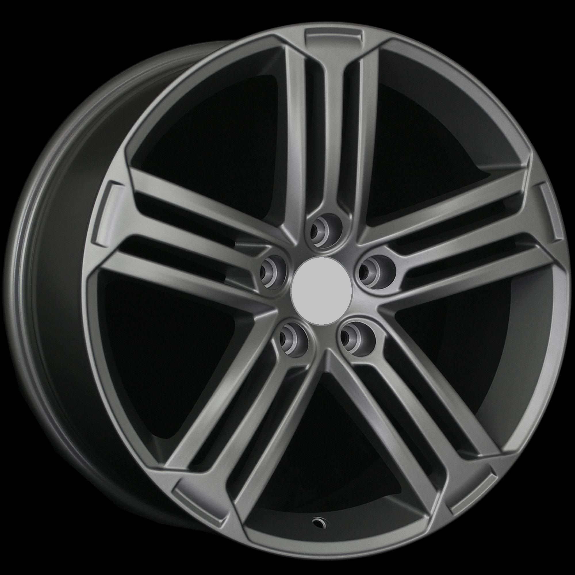 Golf R Style MATTE GUNMETAL Wheels Rims Fit VW JETTA 5TH GEN 2005 2012