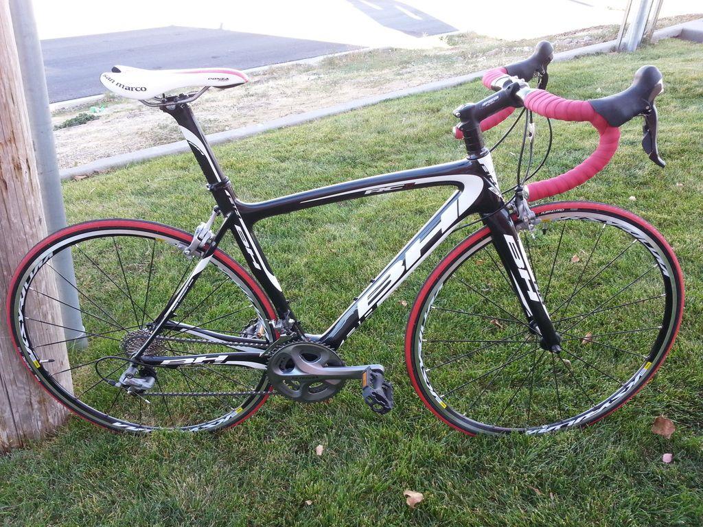 2011 BH RC1 Carbon Road Bike Ultegra Shifters Crankset Brakes Mavic