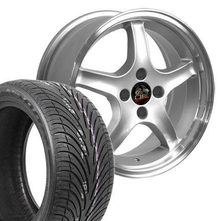 Silver Cobra R Wheels Nexen Tires Rims Fit Mustang® 94 04