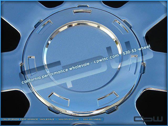 Chrome Wheels Rims 24 inch Fits Chevy Chevrolet Tahoe Silverado