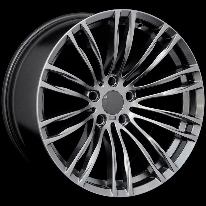 M5 STYLE STAGGERED HYPER BLACK WHEELS RIMS FIT BMW E60 F10 5 SERIES