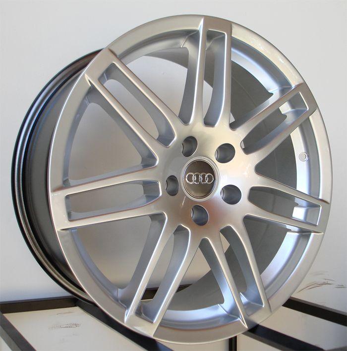 18 Audi RS4 Wheels Rims Fit B5 B6 B7 S4 S6 V6
