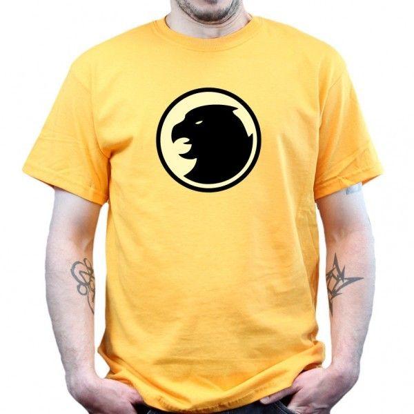 Big Bang Theory   Hawkman   T Shirt   Gold/Gelb Theorie Sheldon Cooper