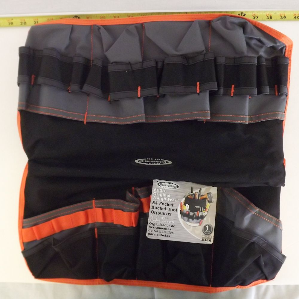 Workwear Mcguiver Nicholas 54 pocket Bucket Tool Bag 334 156