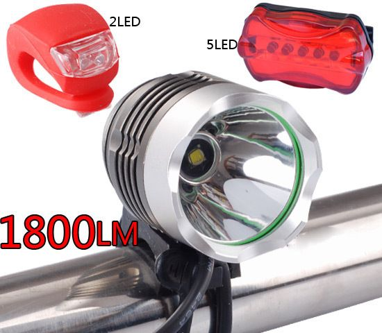 CREE XML XM L T6 1800LM LED Bicycle bike Head Light Lamp/Bicycle Light
