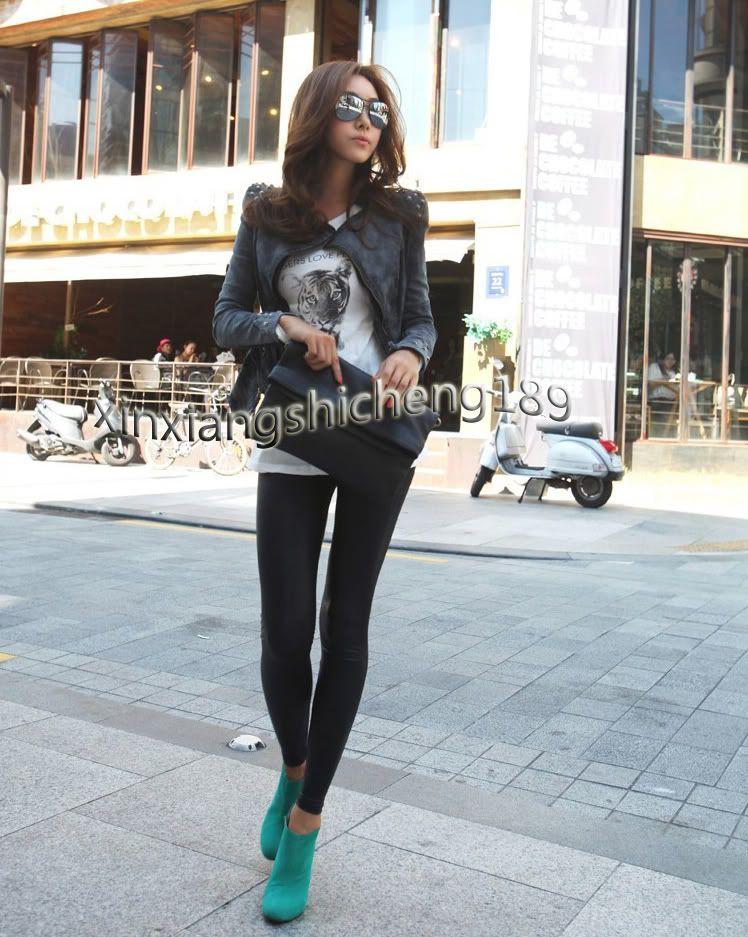 Sharp Punk Studded Shoulder Notched Lapel Denim Jeans Tuxedo Coat