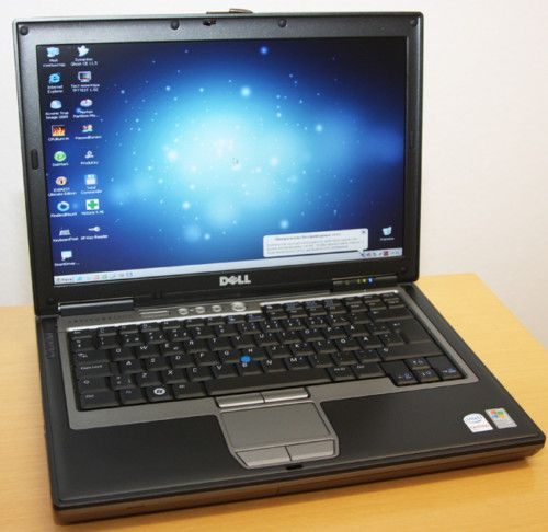 Business Notebook Dell Latitude D630 Core 2Duo 2x2 0GHz 2GB 100GB DVD