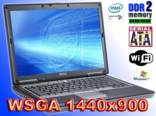 Dell Latitude D620 Duo 2x1,83Ghz60gb 1024MB DVDRW XP WXGA +1400x900
