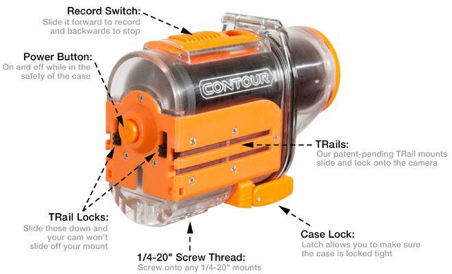 Contour HD Wasserdichtes Gehäuse für HD Waterproof Case