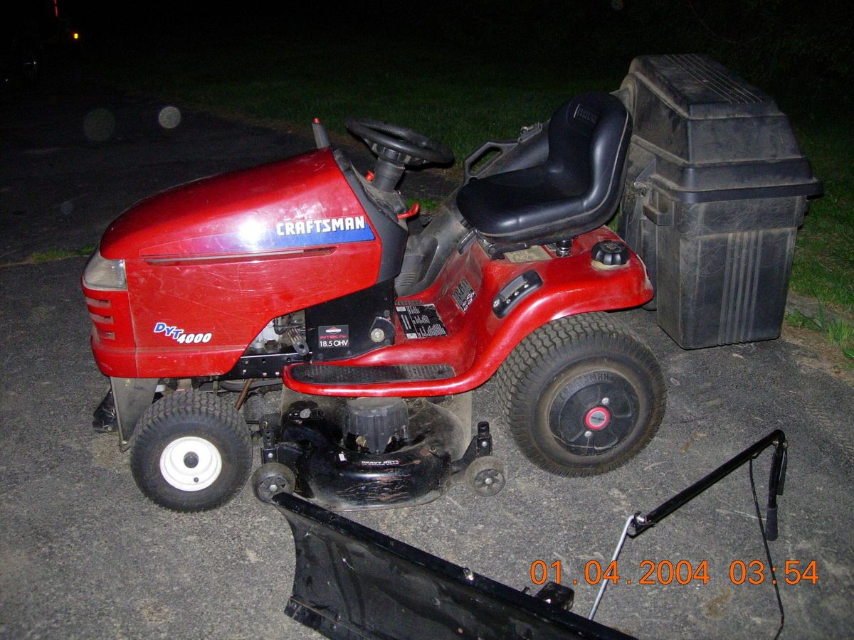 Dyt 4000 Engine : Dyt riding mower hp engine with inch deck