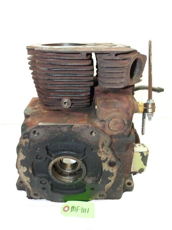 Massey Ferguson MF1650 Tractor Kohler K341 16HP Engine Block